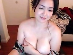 Curvy Asian With Big Natural Tits Two