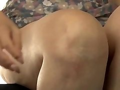 Japanese mom making stepson practice sex
