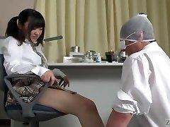 Subtitled Japanese schoolgirl facesitting salvation