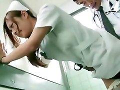 Horny Japanese gal Koi Aizawa in Spectacular Nurse JAV scene