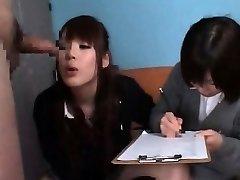 Schoolgirls Penis Check-up CFNM