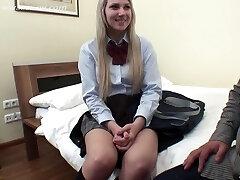 Nicole Schoolgirl Creampie