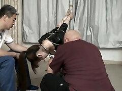 cute Chinese girl bondage