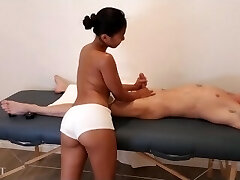 Asian Rubdown Turns Into Fuck Session