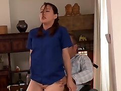 Married Creampie Helper Who Comes To Take Care Of My Daddy