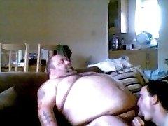 Sucking Chubby Cocks