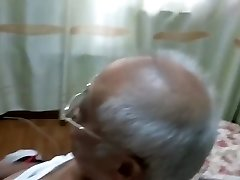 asian grandpa jerking off