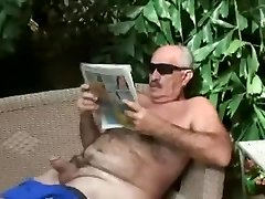 2 old guy having hot sex
