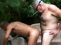 2 old guy having hot sex