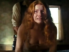 Young Redhead Prostitute Loses Chastity in Western Movie - Please Identify