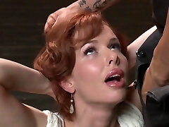 Veronica Avluv In Redhead Mommy Is A Intercourse Slave