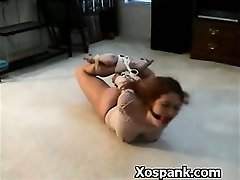 Abuse Loving Bdsm Chick Spanked Extremely