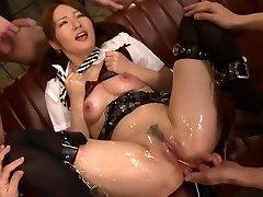 Gokuchiku Five Bijo No Chishikai Scene 1