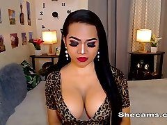Boobsy Shemale Enjoys To Masturbate