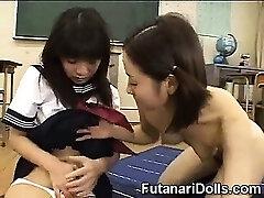 Futanari Nubile at School!