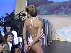 Trio retro topless bikini contests