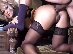 Cute mature assfuck retro