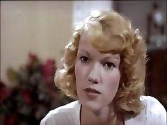Klassiker klipp av en blond är olika scener jävla och sugande