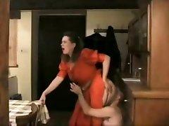 빈티지-성 BBW 엉덩이 예배