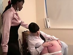 Domme Knows Best - Strict woman teacher spanking