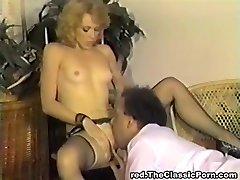 Classic retro vintage old-school pornstars