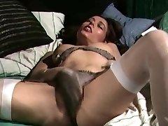 Retro Classical - Satin panties masturbation