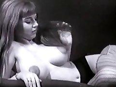 Vintage Big Tits Boobs Puffy Nipples Bush