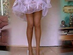 1950's Nylon Pantyhose Legshow