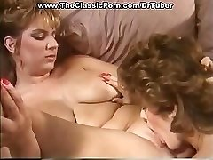 Old-school porn with ultra-kinky sex at party