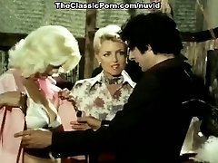 Juliet Anderson, John Holmes, Jamie Gillis in old school tear up