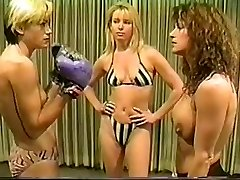 Cal Great Christine vs Lee bare-chested boxing
