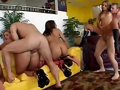 Orgy Old School - Chiquita Roxy Jenifer Jasmine