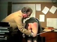 Two super-naughty schoolgirls spanked