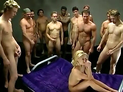Canadian femmes in hot early 2000s gangbang movie - Gangbang doll 34