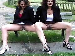 mix of Brit piss ladies