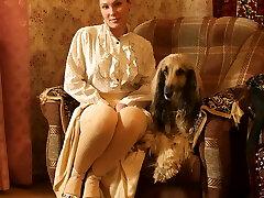 la dame avec le chien