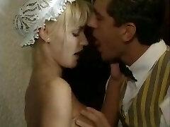 Anita ash-blonde sexy maid