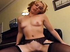 Black prick goes deep in redheads asshole