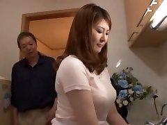 Amazing Japanese chick Momoka Nishina in Naughty Blowjob, POV JAV scene