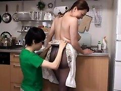 Japanese Busty Mummy Come to My Palace