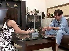 Exotic Japanese whore in Insane Cunnilingus, Mature JAV clip