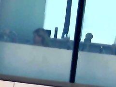 Motel 3 - Blonde Mature Window Bath