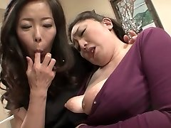 Incredible Japanese whore in Wild Mature, Lesbian JAV movie