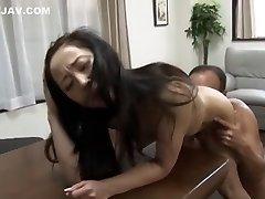 Fabulous Japanese girl in Finest Mature, Cuni JAV clip