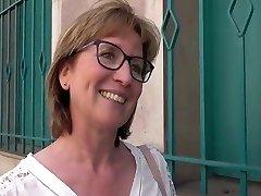 Shy French divorcee teacher