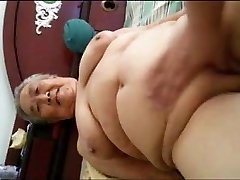Asian Obese Granny