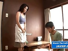 Japanese Mom And Sonny Alone
