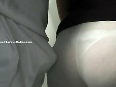 Rubbing My Dick on Mature Mother Law Good-sized Bootie in my office