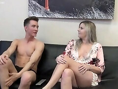 Ultra-kinky mom fuck her son