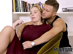 Matures Tight Pussy Is Nailed By The Employers Crazy Stepson